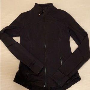Black Lululemon Define Jacket Sz 6